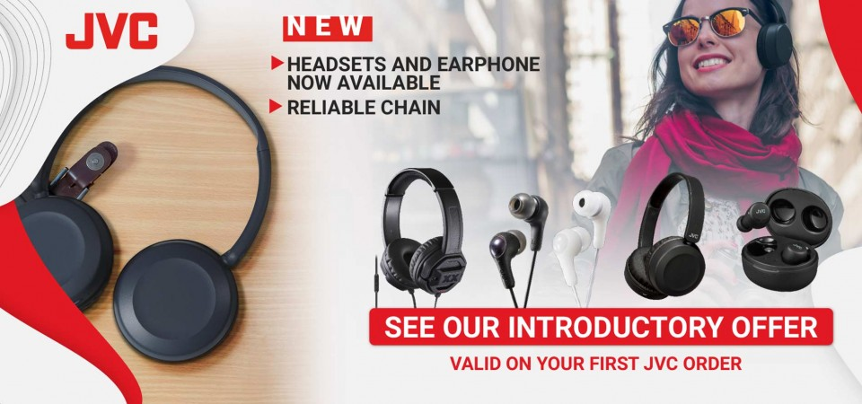 Introductory Offer JVC